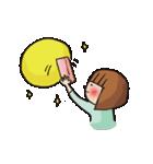 ゆるスピ系アラサー女子 すぴこ!(個別スタンプ:10)