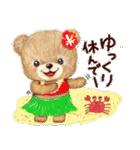 タンくまといっしょ2 ~タンくまの夏~(個別スタンプ:16)