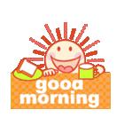 「おはよう」天気で挨拶(個別スタンプ:02)