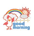 「おはよう」天気で挨拶(個別スタンプ:07)