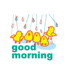 「おはよう」天気で挨拶(個別スタンプ:20)
