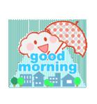 「おはよう」天気で挨拶(個別スタンプ:27)