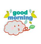 「おはよう」天気で挨拶(個別スタンプ:40)