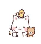 猫と柴犬と時々ひよこ 日常編(個別スタンプ:5)