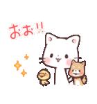 猫と柴犬と時々ひよこ 日常編(個別スタンプ:22)