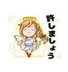 天使と悪魔とときどき神様(個別スタンプ:03)