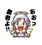 天使と悪魔とときどき神様(個別スタンプ:06)