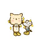 かわいい絵柄のネコとネズミ【文字なし編】(個別スタンプ:1)