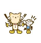 かわいい絵柄のネコとネズミ【文字なし編】(個別スタンプ:5)