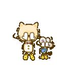 かわいい絵柄のネコとネズミ【文字なし編】(個別スタンプ:10)