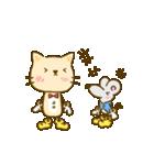 かわいい絵柄のネコとネズミ【文字なし編】(個別スタンプ:12)