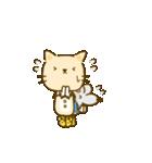 かわいい絵柄のネコとネズミ【文字なし編】(個別スタンプ:18)