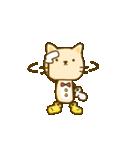 かわいい絵柄のネコとネズミ【文字なし編】(個別スタンプ:21)