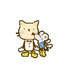 かわいい絵柄のネコとネズミ【文字なし編】(個別スタンプ:22)