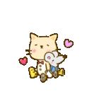 かわいい絵柄のネコとネズミ【文字なし編】(個別スタンプ:23)