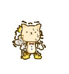 かわいい絵柄のネコとネズミ【文字なし編】(個別スタンプ:25)