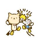 かわいい絵柄のネコとネズミ【文字なし編】(個別スタンプ:27)