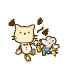 かわいい絵柄のネコとネズミ【文字なし編】(個別スタンプ:29)
