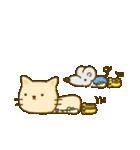 かわいい絵柄のネコとネズミ【文字なし編】(個別スタンプ:31)