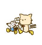 かわいい絵柄のネコとネズミ【文字なし編】(個別スタンプ:33)