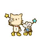 かわいい絵柄のネコとネズミ【文字なし編】(個別スタンプ:36)