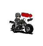 アメリカンバイク アニメーション(個別スタンプ:01)