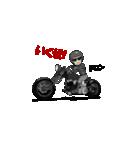 アメリカンバイク アニメーション(個別スタンプ:03)