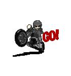 アメリカンバイク アニメーション(個別スタンプ:04)
