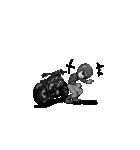 アメリカンバイク アニメーション(個別スタンプ:10)