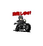 アメリカンバイク アニメーション(個別スタンプ:13)