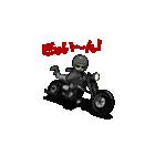アメリカンバイク アニメーション(個別スタンプ:14)