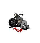 アメリカンバイク アニメーション(個別スタンプ:20)