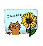猫のトラタ7 夏(個別スタンプ:02)
