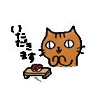 猫のトラタ7 夏(個別スタンプ:20)