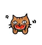 猫のトラタ7 夏(個別スタンプ:25)