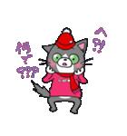Hiroshima Cat 6 秋(個別スタンプ:33)