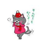 Hiroshima Cat 6 秋(個別スタンプ:35)
