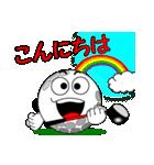 ゴルフの打ち合わせ3「敬語編」(個別スタンプ:02)
