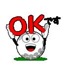 ゴルフの打ち合わせ3「敬語編」(個別スタンプ:09)