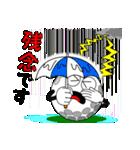 ゴルフの打ち合わせ3「敬語編」(個別スタンプ:25)