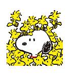 スヌーピー★ポップアップスタンプ(個別スタンプ:08)