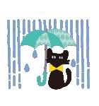 【北欧風♥2】大人かわいい黒ネコ(個別スタンプ:27)