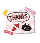【北欧風♥2】大人かわいい黒ネコ(個別スタンプ:30)