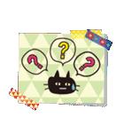 【北欧風♥2】大人かわいい黒ネコ(個別スタンプ:32)