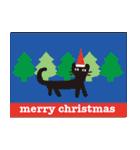 【北欧風♥2】大人かわいい黒ネコ(個別スタンプ:34)