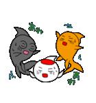 三匹の金魚・2(個別スタンプ:19)