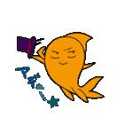 三匹の金魚・2(個別スタンプ:31)
