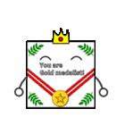 かみ王子(メッセージカード編)(個別スタンプ:28)