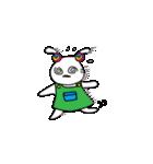 シロウサギ100%(個別スタンプ:20)
