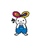 シロウサギ100%(個別スタンプ:27)